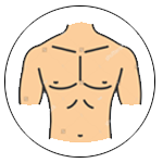 Waist to Chest Ratio & Chest to Hip Ratio Calculator